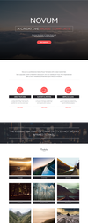 Novum - One Page Muse Template by styleWish