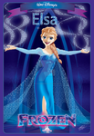 Disney's Elsa from Frozen by polariswebworks