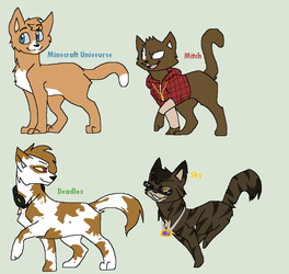 Warrior Cats.....Team Crafted by GoreCatQueen