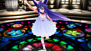 [TDA] Summer Dress Espeon DL by fagonstar