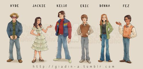 That 70s show by giadina96