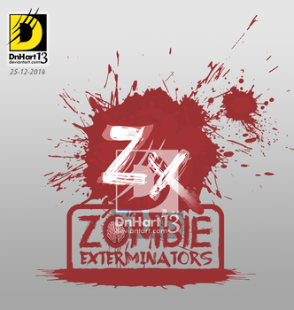 Zombie Exterminators (The Zee Brothers) Logo by dnhart13