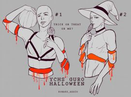 YCH GURO HALLOWEEN [CLOSE] by kohakuasato