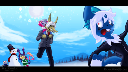 Winter Fun with the Family! by Powerwing-Amber
