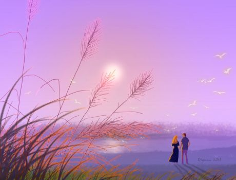 Is on the water somewhere by qiyuan