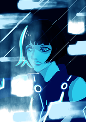 Tron by WAsabeeee
