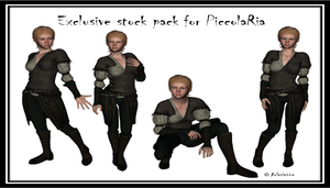 PiccolaRia's Ria exlusive stock pack by Arlesienne