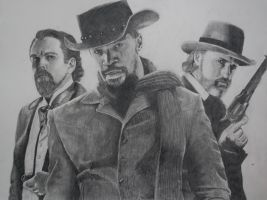 Django Unchained Drawing by Swaal