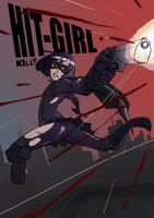 Kick-Ass FanArt HIT-GIRL by killy3time
