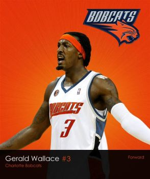 NBA Series: Gerald Wallace by LeBron6