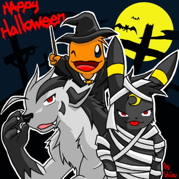 Halloween by Shioulion