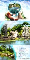 visit indonesia new style by Foxcun