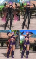 DoA5 Mods - Ayane: Razor's Edge by Segadordelinks