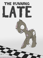 The Running 'Late' (ATG7 - Day 18) by HalflingPony