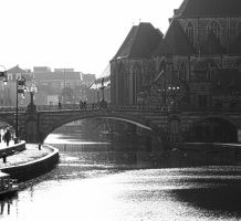 Bridge in Ghent by AmonKane