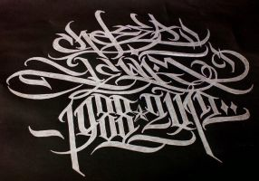 My calligraphy / by Wator artist by Wator