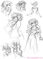 Ruth Doodles - December 2013 by The-Ez