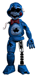 Withered Toy bonnie (my version) by AgentPrime