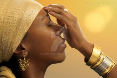 african beauty by serhat3hat