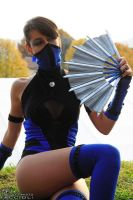Kitana - Mortal kombat Shaolin Monks by Adelbra