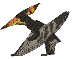 The Lost World Bestiary - Pteranodonoides by Pristichampsus
