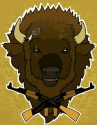 Buffalo Soldier by Prospicience