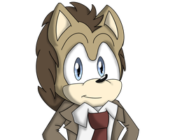 the doctor (in a hedgehog form lol) X3 by SongheartVa