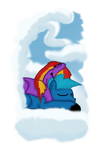 Sieste des nuages by stashine-nightfire