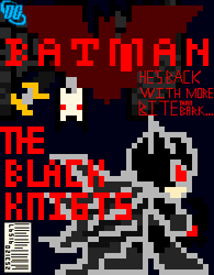 Batman The Black Knights Cover by SilverwindsPheonix