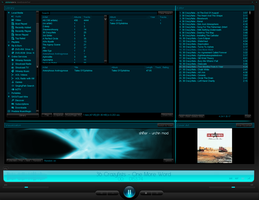 VisionZero for Winamp 5 - 0.9a by da-flow