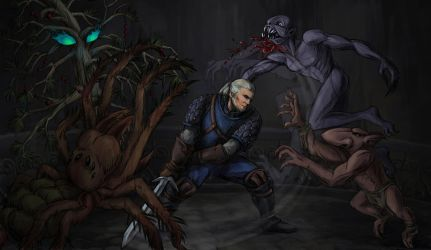 The Witcher by PardalisStrix