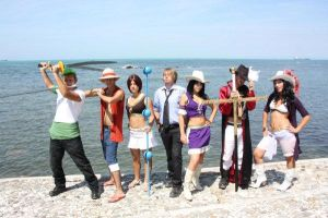 One Piece Italian Crew by Dome-the-swordman