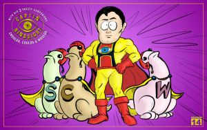 Captain Hindsight and His sidekicks by YourFavoritePABS
