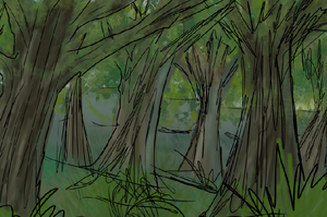 Another background I am stupidly pleased with. by Louvan