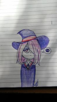 Sucy ~ Little Witch Academia by Zacuraptor