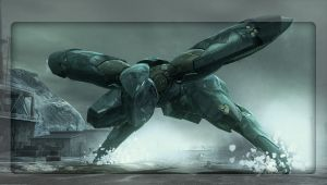 Metal Gear RAY Wallpaper by 0xazzi0
