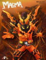 Cross Z Magma by Achscooler