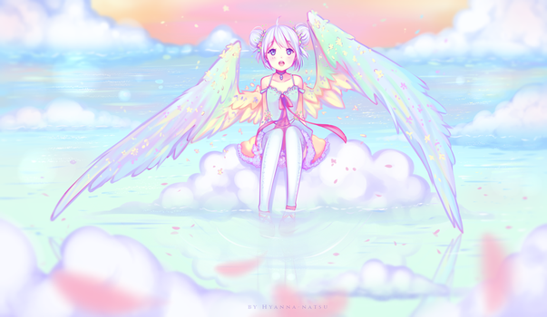When heaven meets earth by Hyanna-Natsu