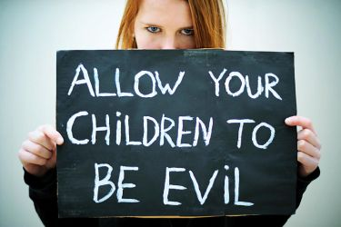 allow your children to be evil by ntscha