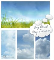 Big Cloud Free Textures by Mephotos