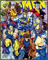 X Men by CarbertArtwork