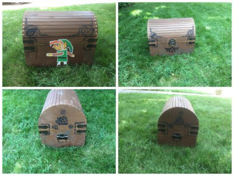 The Legend of Zelda Chest by shibblesgiggles01