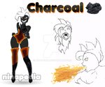 Charcoal - Steven Universe Gemsona by Ninapedia