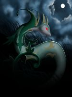 Serperior by DrowningArrows
