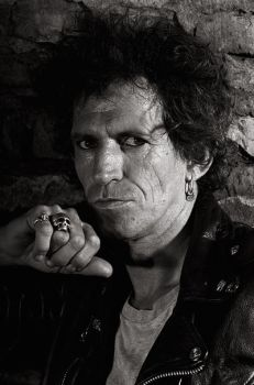 Keith Richards by gottfriedhelnwein