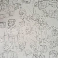 PENCIL SKETCHES by drawhard