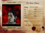 Spider Character Sheet by epic-agent-63