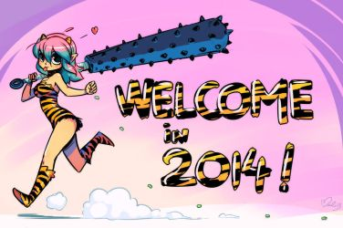 Happy new year 2014 ! by Maliki-Officiel
