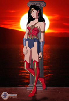 Gal Gadot as Wonder Woman Pt 2 by JTSEntertainment