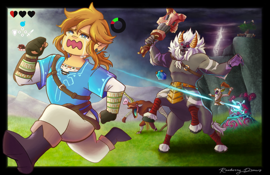 Playing BOTW Be like by Sharerlar